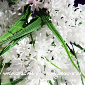 букет из луговых цветов цвета белый 6