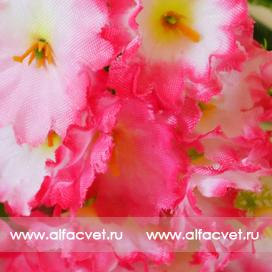 мох цвета розовый с белым 14