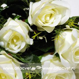 букет роз цвета белый 6