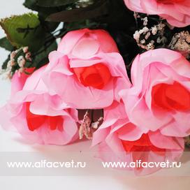 розы цвета розовый с малиновым 53