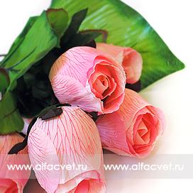 букет роз цвета светло-розовый 9