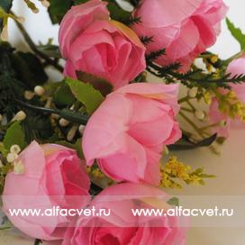 роза маленькая цвета розовый 5