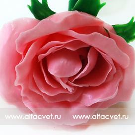 розы пластмассовые цвета розовый 5