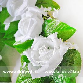 сердце свадебное цвета белый 6