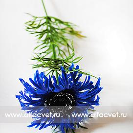 василек пластмассовый цвета синий 12